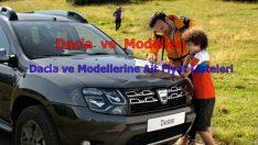 Dacia ve Modelleri