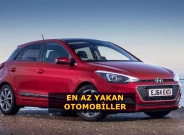 En Az Yakan Otomobiller Ve Modelleri
